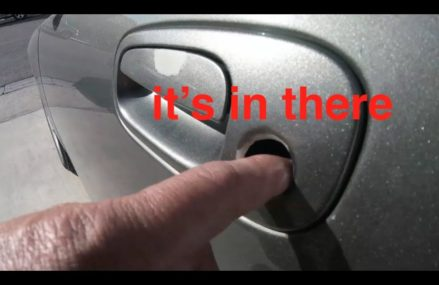 Key Lock Missing? [Door Handle replacement] Dodge Charger√ Fix it Angel Now at 27915 Avon NC
