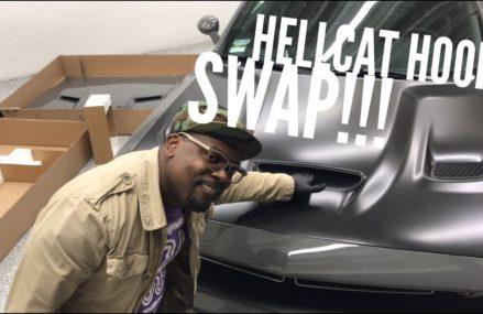 HOW TO: Hood Swap Your Scat Pack Hood w/ Hellcat Hood in Mandeville 70470 LA