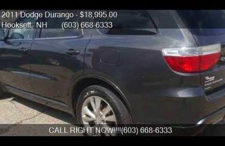 2011 Dodge Durango R/T AWD 4dr SUV for sale in Hooksett, NH St. Petersburg Florida 2018