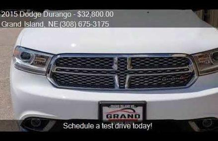 2015 Dodge Durango Citadel AWD 4dr SUV for sale in Grand Isl Columbia South Carolina 2018