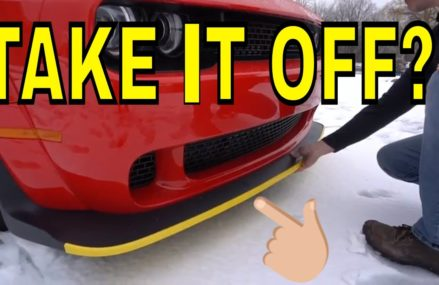 What is this Yellow Strip on the Front of the Dodge Demons? Now at 44304 Akron OH