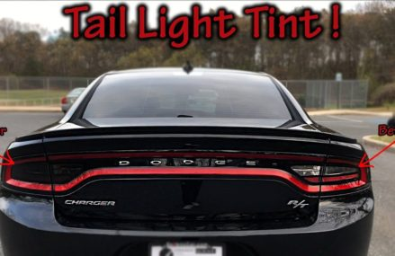 Dodge Charger Tail Light Tint Around Zip 91802 Alhambra CA