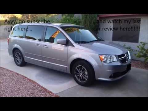 2017 Dodge Grand Caravan Startup Engine And In Depth Tour In
