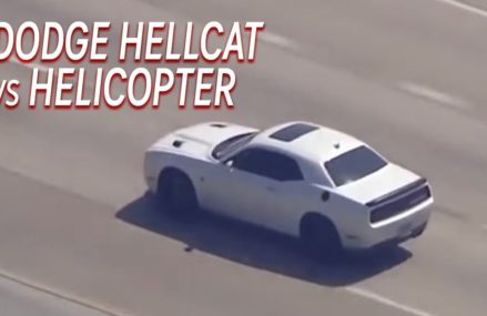 Stolen Dodge Hellcat Outruns Chopper in Houston Police Chase! Driver Almost Makes it Around Zip 75752 Athens TX