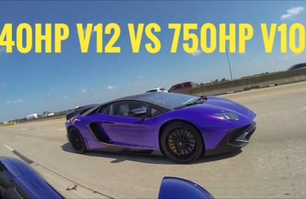 Dodge Viper Vs Lamborghini  West Virginia International Speedway, Ona, West Virginia 2018