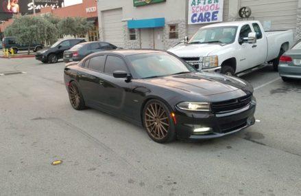 DUBSandTIRES.com 22 Inch Vossen VFS2 Bronze Wheels Dodge Charger Challenger Rims at 87176 Albuquerque NM