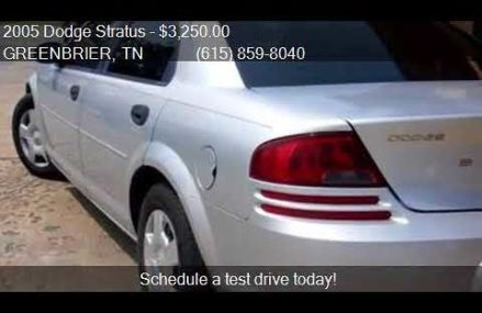 Dodge Stratus Mpg at Norris City 62869 IL