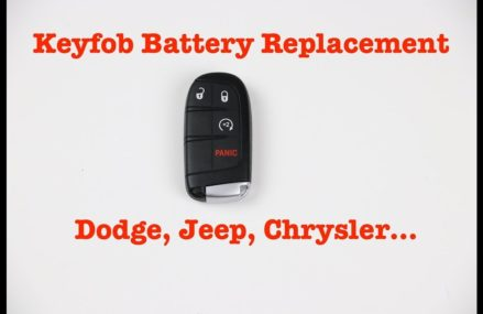 Key Fob Battery Replacement – Dodge, Jeep, all Chrysler Around Zip 46912 Athens IN