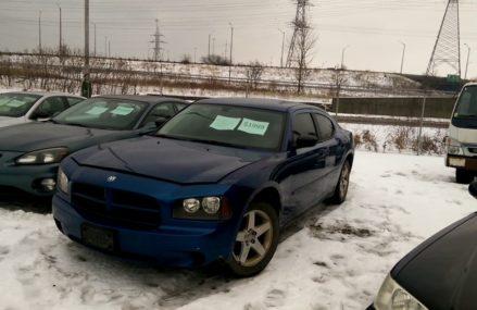 2009 Dodge Charger Junk yard walk around Local Area 12261 Albany NY