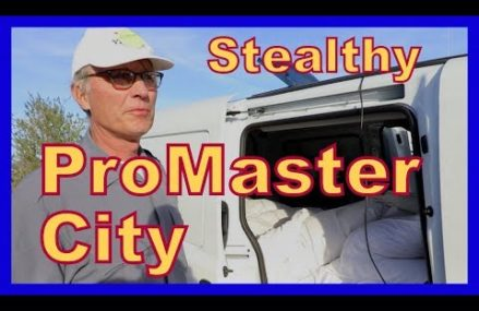 Stealth Traveling in a Ram Promaster City in Mapleville 2839 RI