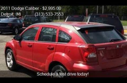 Dodge Caliber Mainstreet 2011 at Toyahvale 79786 TX USA