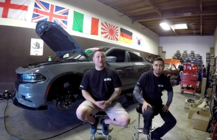 2017 Dodge Charger R/T – Universal Air Suspension Kit – Air Lift 3P Management installation Now at 8007 Barrington NJ