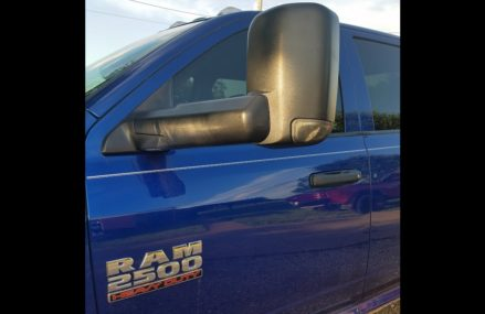 2016 RAM TOW MIRROR INSTALLATION Area Code 62475 West Liberty IL