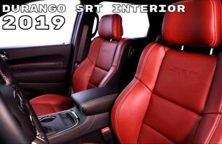 2019 Dodge Durango SRT Interior Scottsdale Arizona 2018