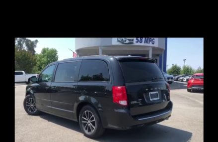 2017 Grand Caravan with Leather and Seating for 7!! at New Tazewell 37825 TN