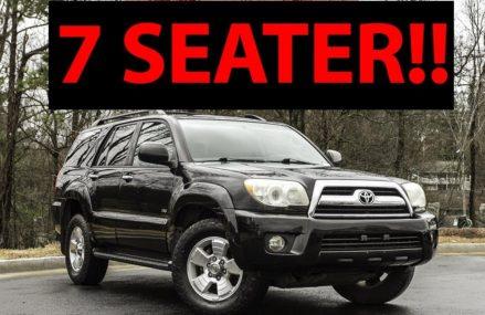 Top 7 Of The Best 7-Seater SUVs Under $10,000 Salem Oregon 2018