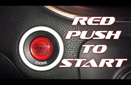RED PUSH TO START OVERLAY INSTALL | 2016 DODGE CHARGER From 18910 Bedminster PA