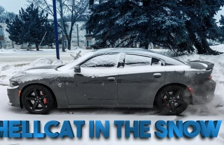 THIS IS WHY YOU NEVER DRIVE A HELLCAT IN THE SNOW!!! Around Zip 83213 Arco ID