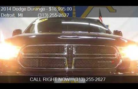 2014 Dodge Durango SXT AWD 4dr SUV for sale in Detroit, MI 4 Yonkers New York 2018