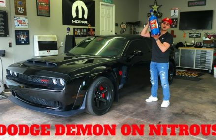 DODGE DEMON GETS NITROUS!! **FIRST ONE** Near 36509 Bayou La Batre AL