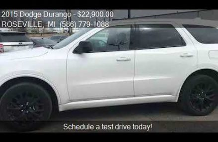 2015 Dodge Durango SXT AWD 4dr SUV for sale in ROSEVILLE, MI Hialeah Florida 2018