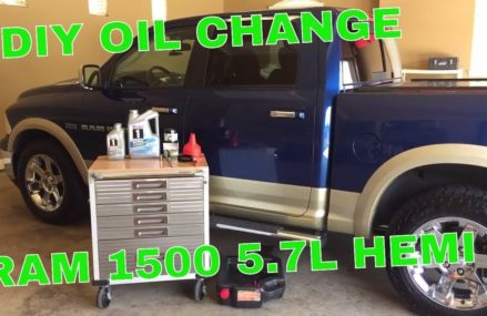 HOW TO: RAM 1500 HEMI OIL CHANGE Found at 16950 Westfield PA
