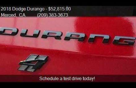 2018 Dodge Durango R/T AWD 4dr SUV for sale in Merced, CA 95 Reno Nevada 2018