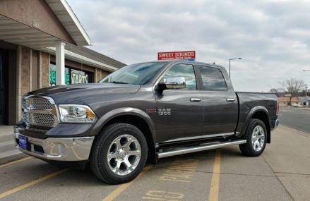 2017 Ram 1500 Stereo System by Sweet Sounds Around Streets in 36586 Walker Springs AL
