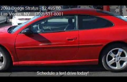 Dodge Stratus Las Vegas at San Diego 92162 CA