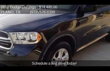 2012 Dodge Durango SXT 4dr SUV for sale in PLANO, TX 75075 a Lexington-Fayette Kentucky 2018