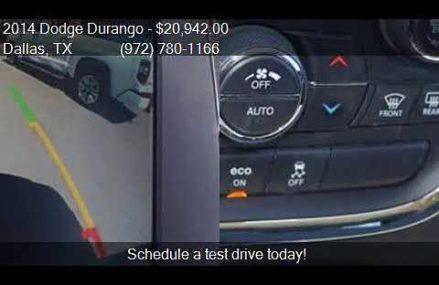 2014 Dodge Durango SXT 4dr SUV for sale in Dallas, TX 75237 Chicago Illinois 2018