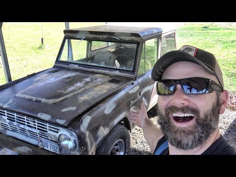 1968 BRONCO GOES TO THE CRUSHER?? OR...WILL IT RUN?? Dodge Ram Jackets