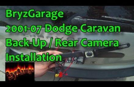 2001-07 Dodge Caravan Back-Up / Rear Camera Install in New Lisbon 53950 WI