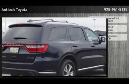 2016 Dodge Durango Limited  – Antioch Boise Idaho 2018