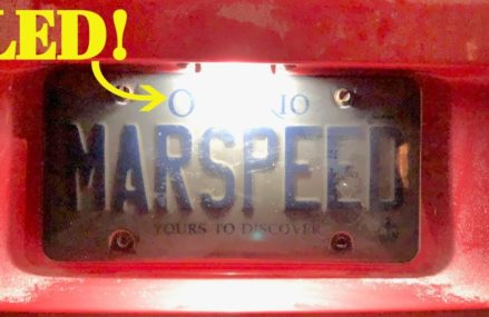 LED License Plate Light Upgrade – Dodge Charger – BRIGHT & CHEAP Now at 50003 Adel IA