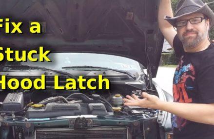 Fix a Stuck Hood Latch 2000 Dodge Dakota Norfolk Virginia 2018
