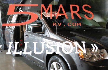 5 Mars Illusion Dodge Camper Van: ONLY in Canada! in Mobile 36607 AL