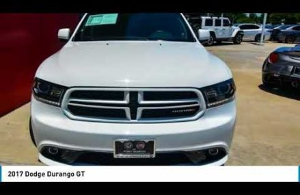 2017 Dodge Durango Ft. Worth Tx, Arlington TX, Grapevine TX U774105 Kansas  Missouri 2018