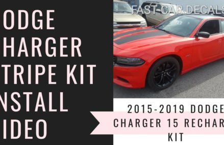 2015-2019 Dodge Charger 15 Recharge RT Hood & Side Stripes – Youtube in 24210 Abingdon VA
