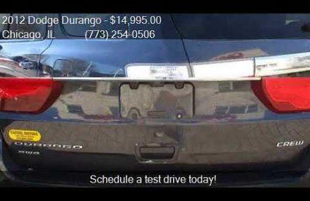 2012 Dodge Durango Crew AWD 4dr SUV for sale in Chicago, IL Chesapeake Virginia 2018