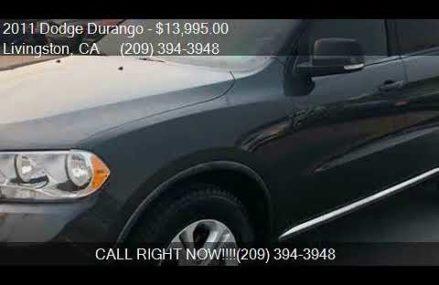 2011 Dodge Durango Crew 4dr SUV for sale in Livingston, CA 9 Charlotte North Carolina 2018