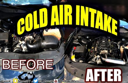 Install Cold Air Intake On Dodge Charger RT Around Zip 39521 Bay Saint Louis MS
