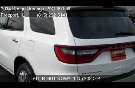 2014 Dodge Durango Citadel AWD 4dr SUV for sale in Freeport, Columbus Ohio 2018