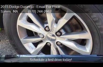 2015 Dodge Durango Limited AWD 4dr SUV for sale in Salem, MA Madison Wisconsin 2018
