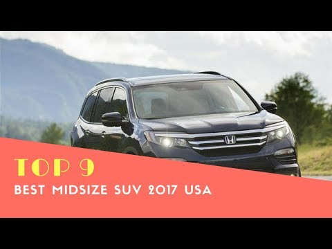 Top 9 Best Midsize Suv 2017 Usa Dodge Durango Model Elk Grove California
