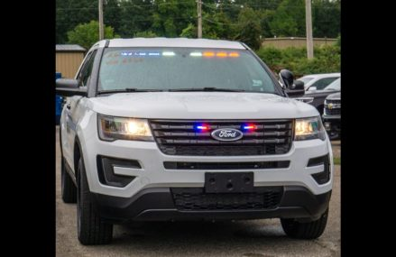 2018 White Ford Police Interceptor Utility Explorer Slick-Top Admin For Sale. Soundoff Red-Blue LEDs Colorado Springs Colorado 2018