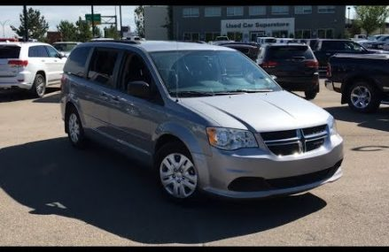2015 Dodge Grand Caravan SXT   Stow-N-Go Seating   Edmonton Alberta   NDA9106A   Crosstown Chrysler Local Moriah 12960 NY
