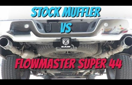 "FlowMaster Super44 Vs. Stock ""RAM 1500 5.7L HEMI"" Around Streets in 67761 Wallace KS"