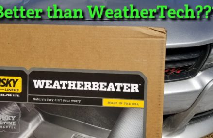 Review: Husky Weatherbeater Floor Liners for 2015 up Dodge Charger.  WeatherTech Beaters? For 11931 Aquebogue NY