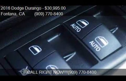 2016 Dodge Durango Limited 4dr SUV for sale in Fontana, CA 9 Norfolk Virginia 2018